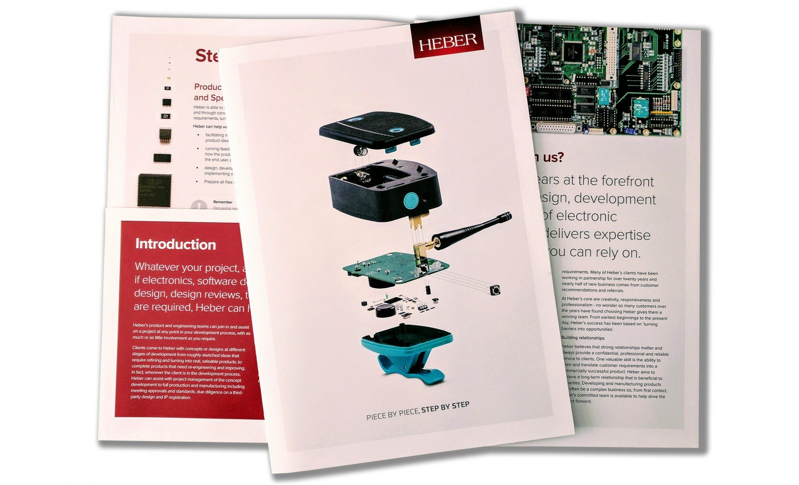 Heber's new bespoke design brochure
