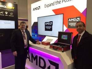Les & Afonso AMD Stand ICE