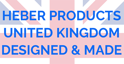 Heber Products United Kingdom Designed and Made